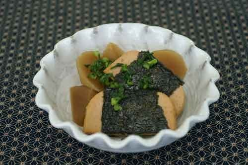 三育大豆のハム ぶり大根風